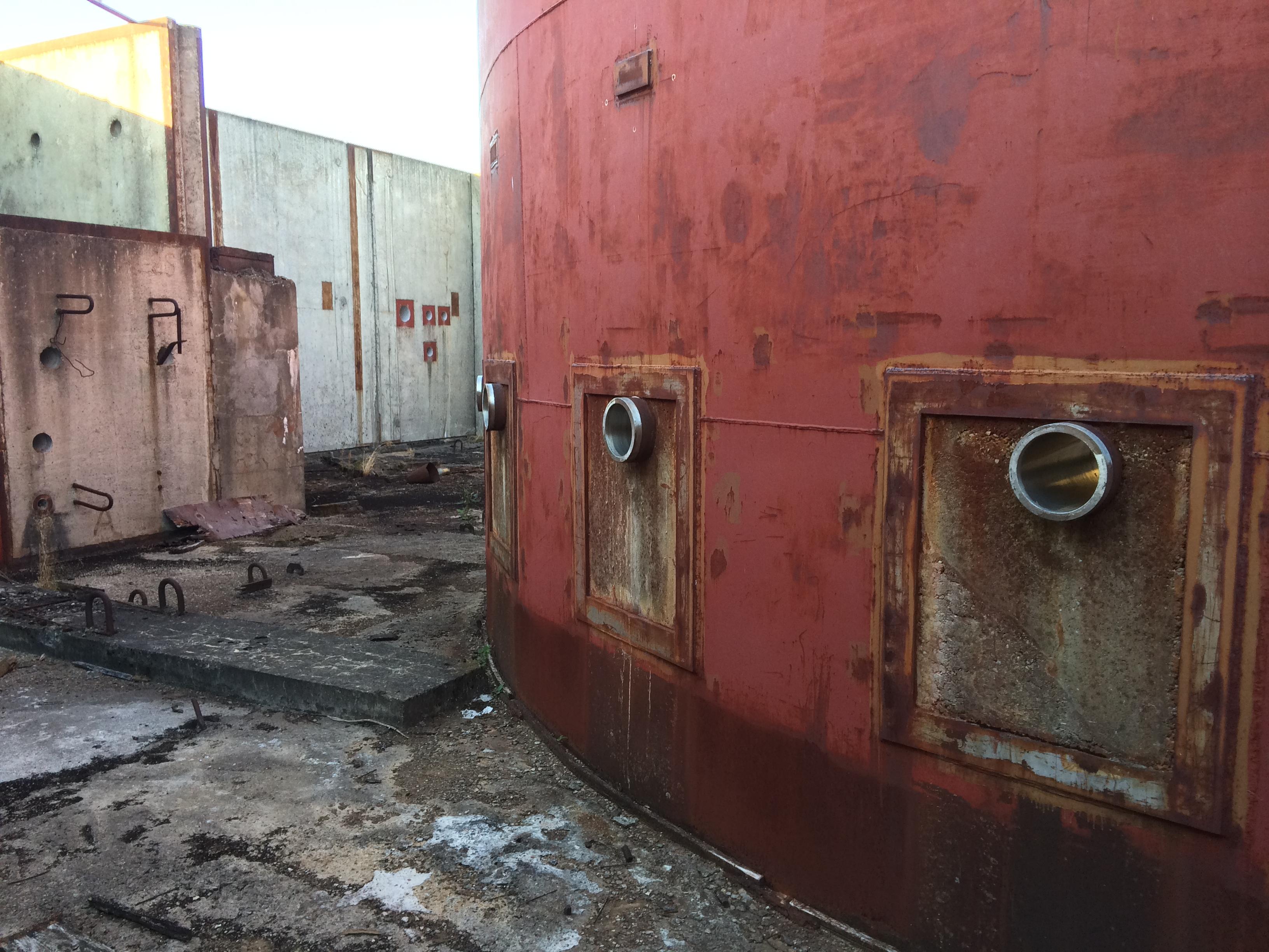 niedokończona elektrownia jądrowa Żarnowiec
